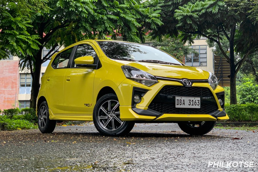A picture of the front of the Wigo TRD S
