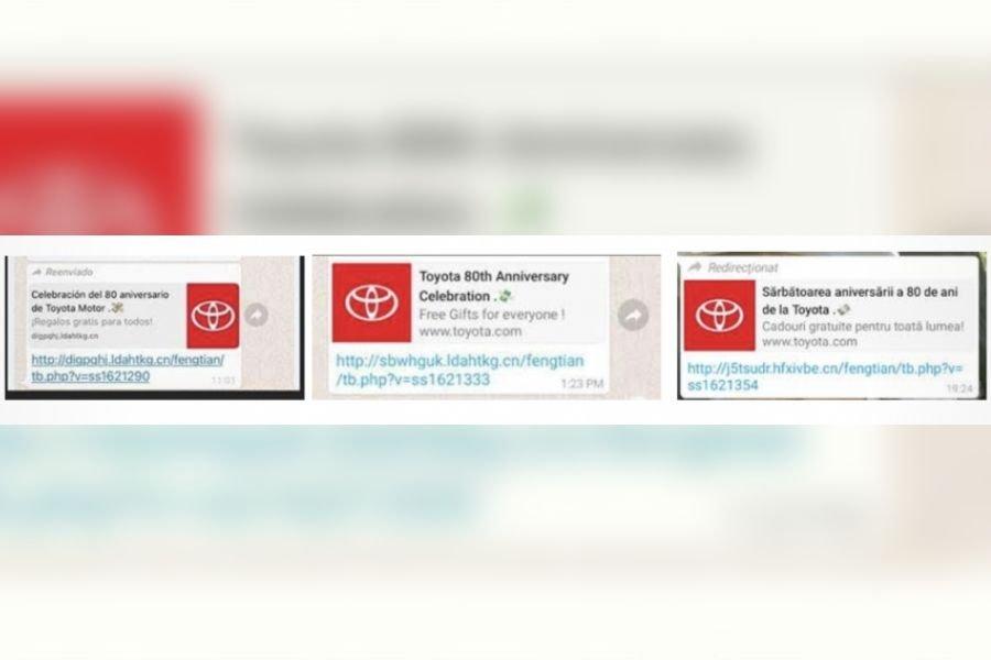 Toyota Motor Philippines advisory