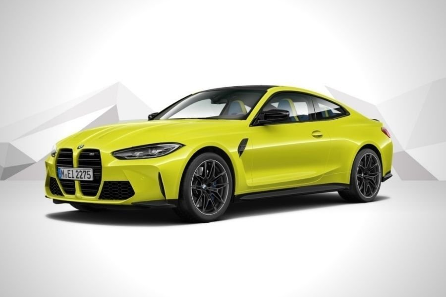 A picture of the M4 Competition Coupe
