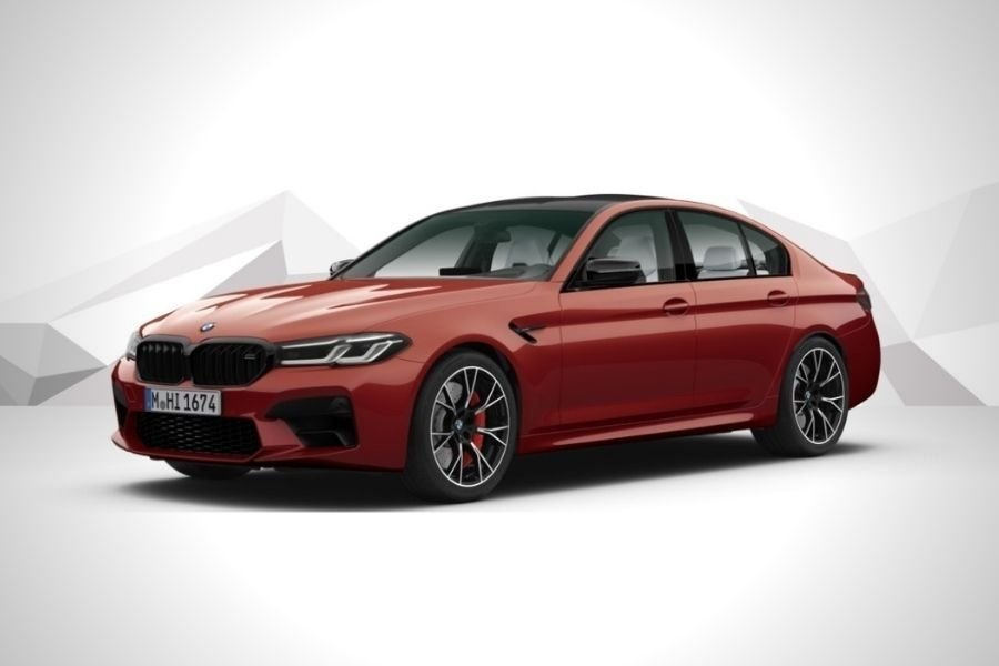 A picture of the BMW M5 Competition