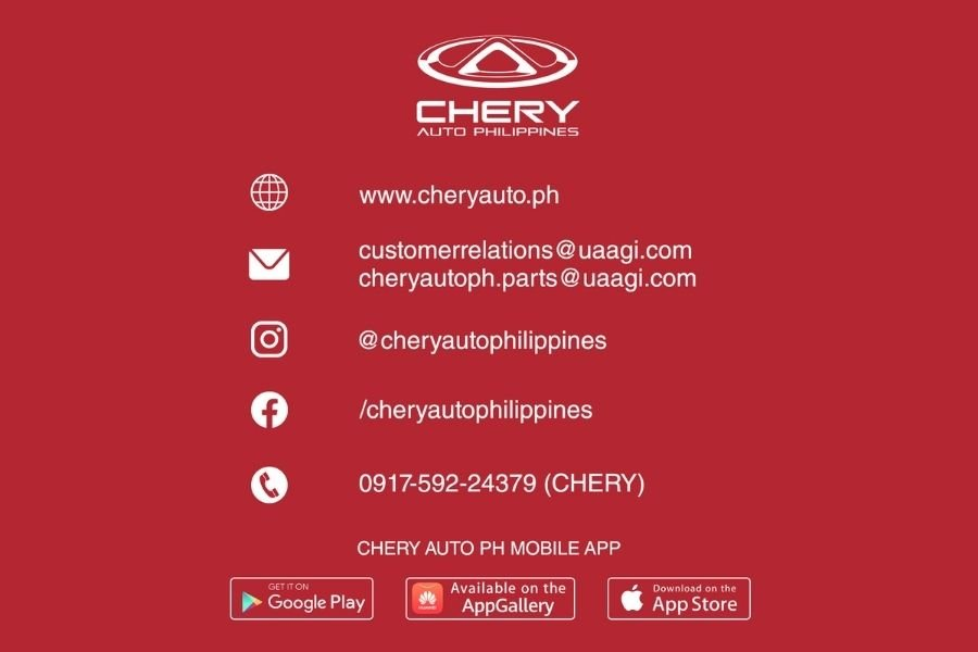 Chery Auto Philippines parts availability announcement