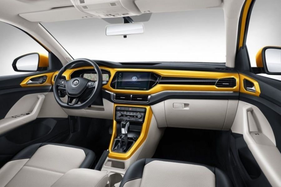 A picture of the T-Cross interior