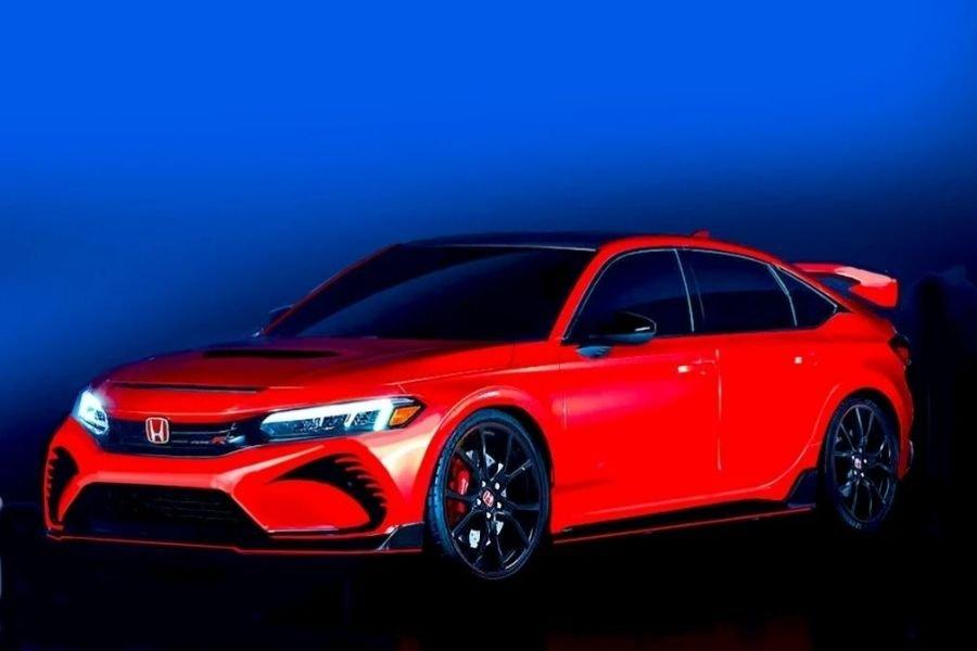 2022 Civic Type R render