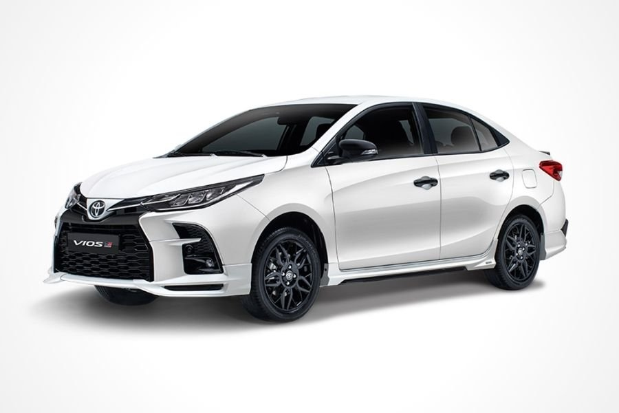 Toyota Vios GR-S White Pearl Crystal Shine paint option