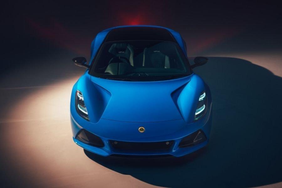 2022 Lotus Emira front shot
