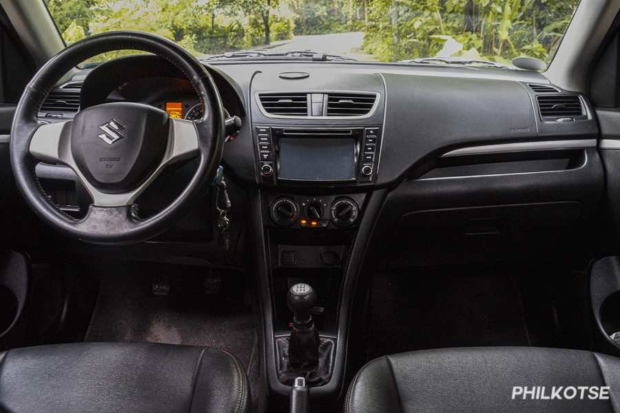 A picture of the 2018 Swift's front cabin