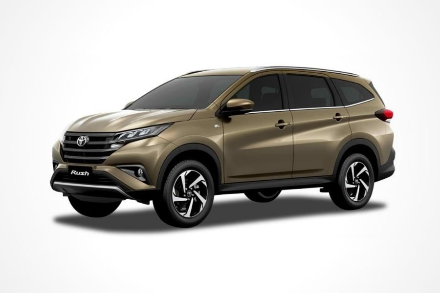 Toyota Rush E in Bronze Mica Metallic