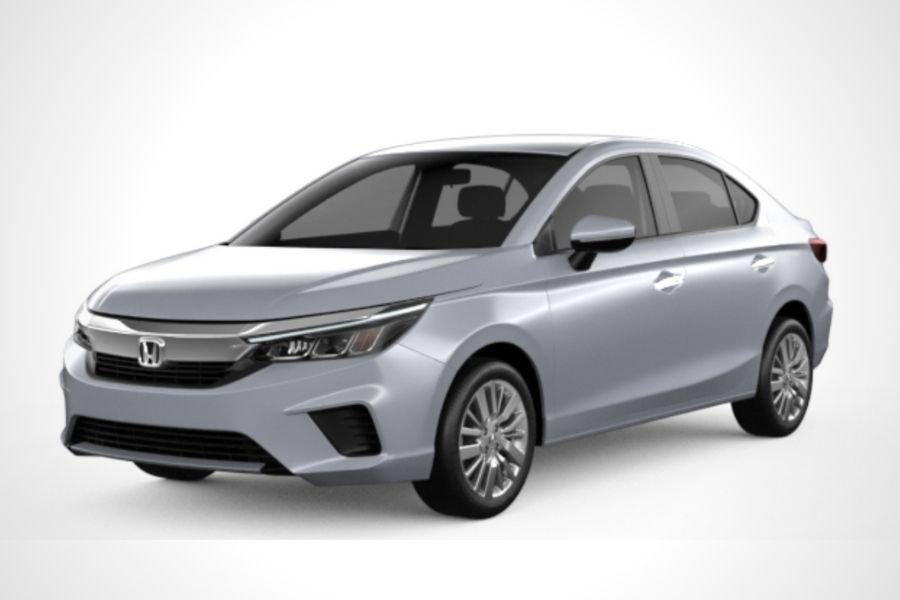 Honda City in Luna Silver Metallic