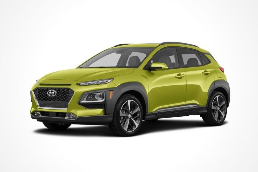 Hyundai Kona in Acid Yellow