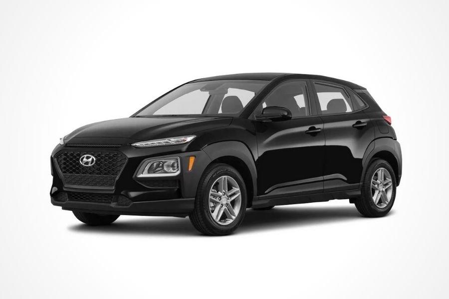 Hyundai Kona in Phantom Black color