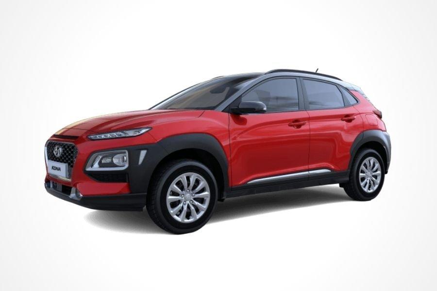 Hyundai Kona in Red color