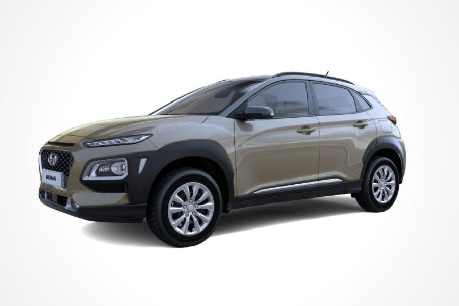 Hyundai Kona in Velvet Dune color
