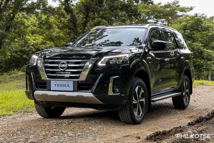 A picture of the front of the new Nissan Terra