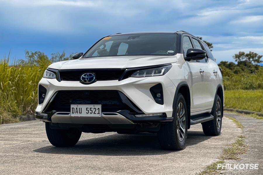 2021 Toyota Fortuner LTD front view
