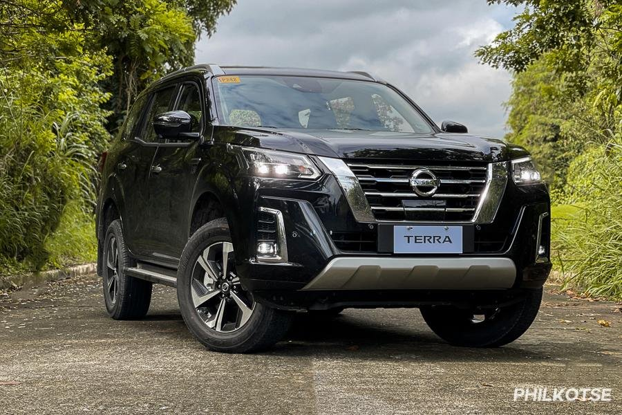A picture of the Nissan Terra VL front