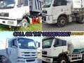 Brand new faw tractor head dump truck transit mixer cargo.-5