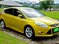 FORD FOCUS 2014 YELLOW FOR SALE-0