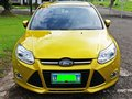 FORD FOCUS 2014 YELLOW FOR SALE-3