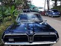 1968 Ford Mercury Cougar 2-door AT Black For Sale -2
