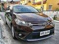 Toyota Vios 1.3 E 2016 Brown Sedan For Sale -0