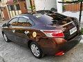 Toyota Vios 1.3 E 2016 Brown Sedan For Sale -4