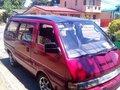 Nissan Vanette Van 1993 Manual Red For Sale -0