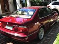 BMW 523i 1997 Red Sedan Well Maintained For Sale -2