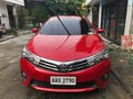 2014 Toyota Corolla Altis G Red For Sale-3
