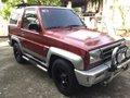 1999 Daihatsu Feroza SE Red For Sale -0