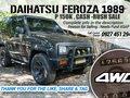 Daihatsu Feroza 4WD 1989 for sale -9