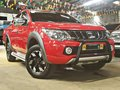 Red 2017 Mitsubishi Strada Automatic Diesel for sale-0