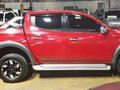 Red 2017 Mitsubishi Strada Automatic Diesel for sale-1