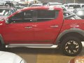Red 2017 Mitsubishi Strada Automatic Diesel for sale-5