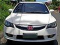 Sell White 2009 Honda Civic at 84000 km in Metro Manila -1
