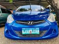 Blue 2014 Hyundai Eon Hatchback for sale in Isabela -2