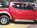 Red 2013 Mitsubishi Strada Diesel Manual for sale in Quezon City -2
