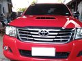 Sell Red 2015 Toyota Hilux Manual in Maguindanao -1