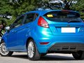 Blue 2014 Ford Fiesta at 45000 km for sale in Quezon City -1