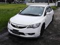 White Honda Civic 2009 at 69912 km for sale -0
