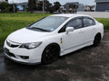 White Honda Civic 2009 at 69912 km for sale -2