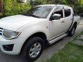 White 2011 Mitsubishi Strada Manual Diesel for sale -1
