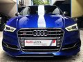 Blue Audi S3 2016 at 5000 km for sale-3