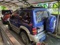 Selling Blue Mitsubishi Pajero 2002 at 80000 km in Davao City -2