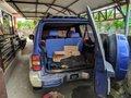 Selling Blue Mitsubishi Pajero 2002 at 80000 km in Davao City -4