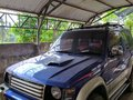 Selling Blue Mitsubishi Pajero 2002 at 80000 km in Davao City -0