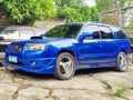 Selling Blue Subaru Forester 2007 at 150000 km -3