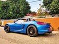 Sell Blue 2015 Porsche Boxster at 6500 km -6