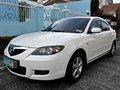White Mazda 3 2009 Automatic Transmission for sale-2