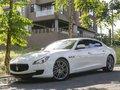 White Maserati Quattroporte 2014 for sale in Quezon City-8