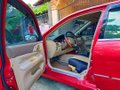 Red Mitsubishi Lancer 2003 Automatic for sale -1